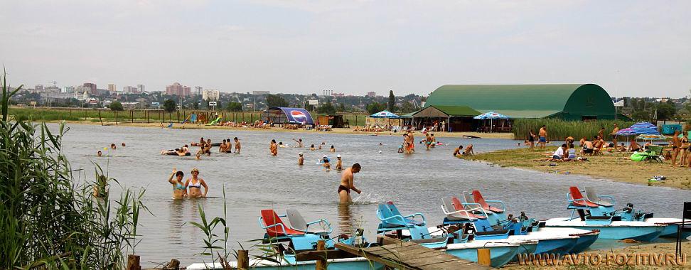 Пляж ростовское море 32